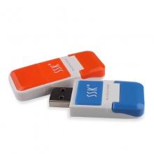 飚王SSK  风云系列 usb 2.0 TF/Micro SD卡读卡器 SCRS022
