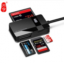 川宇 C369S USB3.0  CF/TF/SD/MS多合一 读卡器 USB3.0支持CF/SD/TF/MS多合一读卡器,最大传输速度可达5Gb/s