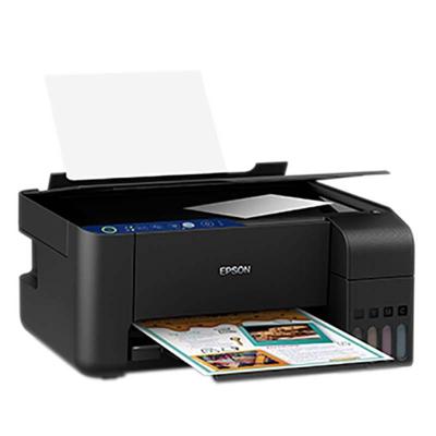 爱普生(EPSON)L3158 A4彩色内置墨仓式无线一体机 (打印 复印 扫描 无线 手机打印 L405升级版)