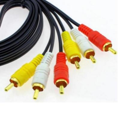 三分三AV音频线1.5M特价限量赔钱赚人气型号
