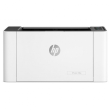惠普(HP)A4黑白激光打印机家用小型办公同功能惠普 108w新品(无线)