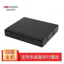 海康威视硬盘录像机H265 4路 监控刻录机 监控主机NVR DS-7804N-F1(B)