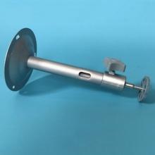 监控支架 摄像机支架 铝支架 铝合金支架 T型支架 万向支架 工程可用 颜色:银白色长度: 18mm