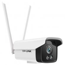 TL-IPC525C-W4-W20 H.265 200万室外全彩无线网络摄像机 2颗大功率暖光灯,TP无线枪机枪击24小时日夜全彩 IP66级防水防尘,室内外通用 监控摄像机 摄像头