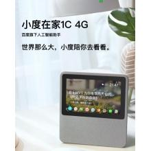 小度在家1C 4G 7寸触摸屏幕 内置电池 可插SIM卡 WIFI热点