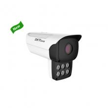 中控 ZK-Face537T 人脸识别抓拍机 H,264/H.265视频编码 支持三码流 人路抓拍、人脸跟踪及人脸自动过滤 IP66防护等级 镜头可选8mm/12mm RJ45网口、DC12V供电 支持IO输出