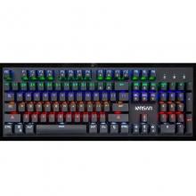 朗森Lk-J12 插拔青轴 竞技 网咖 吃鸡功能版 机械键盘