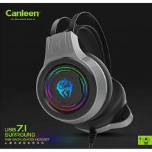 佳合耳机 K30U 渠道带包 7.1USB声道 头带坚固耐用 双边震动效果 头戴式耳机 耳麦