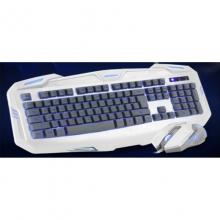 朗森LT-680P+U PLUS升级版 三色背光 绝代双雕 游戏优选键鼠套装