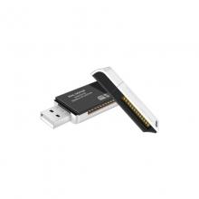 高多 K80 USB多功能读卡器 SD+TF双卡合一 USB多功能双插口 USB2.0 高速传输