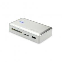 高多 GD-K30(811HUB)台湾汤铭IC 铝壳面板扩展3个USB接口,1m线长;SD(HC)卡 T-F卡和USB接口的外围设备 支持1TB大容量存储器及移动硬盘
