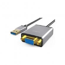 高多 GD-CU01 USB3.0公 转 VGA母 一体成型 双边铝壳(USB3.0外置显卡)