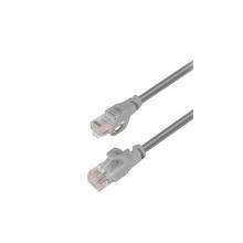 高多 GD-W53 1米 网络跳线 新款五类工程网线 过福禄克测试,高密度绞线 灰色