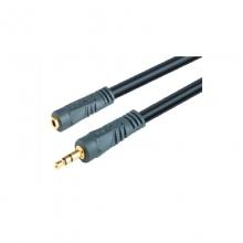 高多 GD-A16 3米 黑 AV线 公对母 延长线(PP袋)