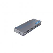 高多 GD-G27 四路(一进四出)HDMI视频信号分配器,1.4版本 支持分辨率:720i/720p/1080i/1080p/4K 支持各类HDMI接口设备