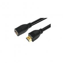 高多 GD-K72 0.5米 HDMI信号放大器 HDMI母头输入 带EQ放大器 转HDMI公头输出 0.5米