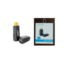 高多 GD-K50 HDMI转接头  HDMI公 转 VGA母头+音频头