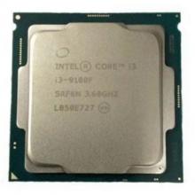 英特尔酷睿CPU散片台式机电脑CPU处理器 酷睿 I3-9100F 英特尔 I3 9100F散片