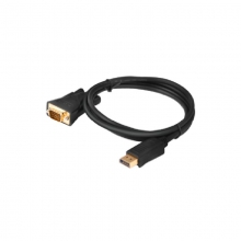 高多 GD-K25 1.8米 黑色 DP公 转 VGA公头  DP转VGA公头 转接线 (OD5,5mm) 支持 1080P