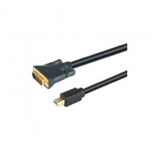 高多 GD-K70 1.8米 黑色 MiniDP 转 DVI公 转接线 MiniDP 转 DVI公 转接线 1080P 60Hz