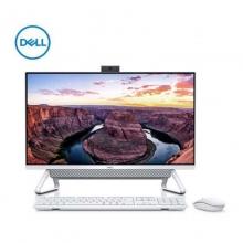 Dell/戴尔 灵越7790 27英寸大屏一体机微边框10代酷睿高清台机超薄台式机家用办公电脑 INS 27-7790-R1505W(i5-10210U/8G DDR4/512G SSD/WIN10) 白色