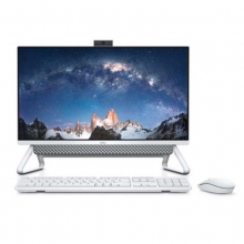 Dell/戴尔 23.8英寸大屏一体机微边框全新10代酷睿高清台机超薄台式机家十代用办公电脑5490 5490-1305B(I3-10110U/8G DDR4/256G SSD/WIN10) 黑色
