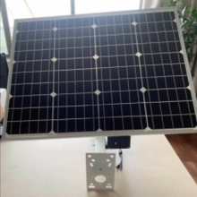 太阳能晶板 太阳能板供电系统20AH晶板功率单晶60W阴雨天续电时间2~3天  量大可电话咨询