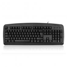 双飞燕 KB-8 USB防水键盘 办公游戏家用笔记本台式机电脑圆口有线键盘
