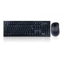 双飞燕 7100N USB无线游戏键盘鼠标键鼠套装笔记本电脑办公套件薄