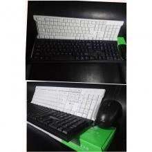 力镁W100无线套装 无线键鼠套装 键盘鼠标套装