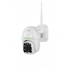 天敏 ipc-dc02-x 2.5寸插卡200万双光源夜视全彩室外防水wifi 360度旋转球机双向通话人形检测兼容所有录像机