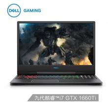 戴尔DELL  G7 7590-R2763B 15.6英寸游戏笔记本电脑(九代i7-9750H 16G 1TSSD GTX1660Ti 6G独显 240Hz )黑