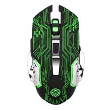 R16 六键游戏鼠标 发光 锂电 充电 鼠标自动休眠 省事省电 六键游戏 发光