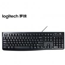 罗技(Logitech)K120有线USB键盘 家用办公电脑笔记本通用U口键盘
