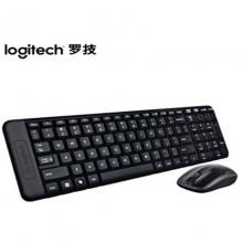罗技(Logitech)MK220 键鼠套装 无线键鼠套装 办公键鼠套装 黑色 带无线2.4G接收器