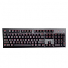 X780 山海经 机械键盘炫光键盘金属机身 电子竞技可插拔轴机械键盘