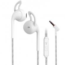 贝呗美BM-802 平耳 入耳两用耳机 白色 简约时尚 配戴舒服 手机耳机