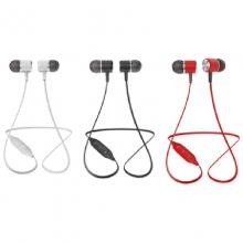 贝呗美S667 双耳运动蓝牙耳机 5.0芯片 私模爆款 黑、白、红 立体声双耳运动蓝牙耳机 耳托独特造型设计 更适合运动式佩戴