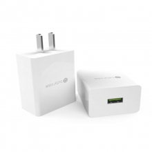 贝呗美MQC3.0 快充头 白色 支持分部手机快充Quick Charge3.0