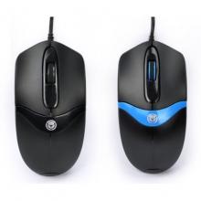 相思豆 X30商务办公鼠标 黑、黑蓝 鼠标采用人体工学设计 完美贴合手型曲线