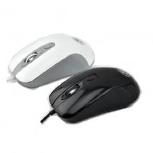 相思豆X7商务办公游戏鼠标 黑、白 6D4色发光鼠标采用加重架构设计