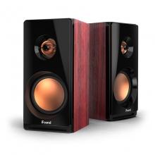 方正(iFound)F88音响 木质音箱电脑音箱Hifi2.0音响台式机有源多媒体笔记本木质小音箱电视音响家用 酒红色