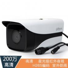 大华200万像素h.265网络摄像机星光级监控红外防水摄像头DH-IPC-HFW2233DM-I1  监控摄像机