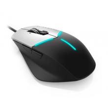 外星人 Alienware Advanced版 AW558 游戏鼠标(AlienFX灯效 5000DPI-3档飞敏设置 9个可编程按键)黑银AW G558 Mouse鼠标