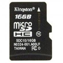 金士顿(Kingston)16GB TF(Micro SD) 存储卡 80M  连续拍摄更流畅 正品 代理货五年质保 全套精包装 16G手机内存卡 监控专用