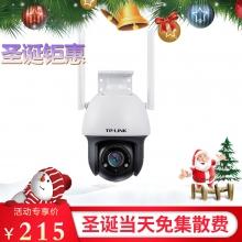TP-LINK 300万室外无线球机 360度全景室外防水网络监控摄像头 手机远程智能AI人形检测 TL-IPC633-D4 监控摄像机  监控球机 现货