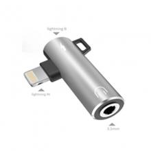 贝呗美AD991 苹果接口转3.5音频+充电