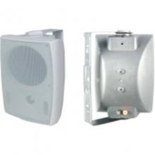 惠威款音响KD-727-5寸功率喇叭单元:5寸*1只+3寸高音 尺寸:170*155*250mm 定压输入:70-100v壁挂音箱30瓦会议音响