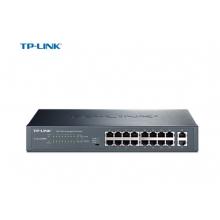 TP-LINK TL-SL1218MP 16口百兆PoE交换机 2个千兆口千兆级联口