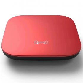 天猫魔盒T17红色 1G 8G  网络电视盒